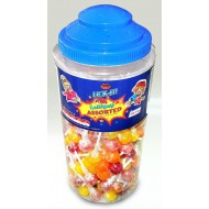 Lick It Assorted Lolly Halal Fruit Flavoured Sweets Lollipops 150 Lolly Party